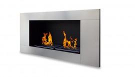 cheminee bio ethanol sevenfire xl noire 4 bruleurs. Black Bedroom Furniture Sets. Home Design Ideas