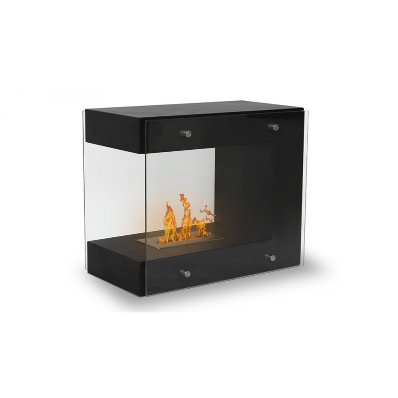 Poele poser 66 x 38 x 56 cm 2 7 kw torino - Buche ceramique pour cheminee bio ethanol ...