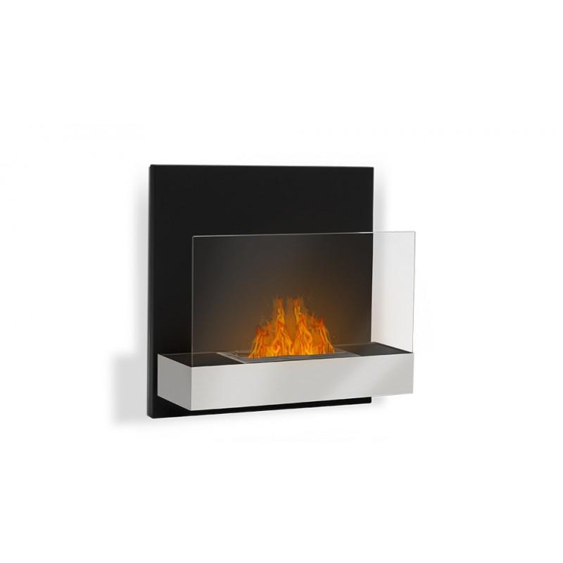 cheminee ethanol murale tosno 61 x 61 x 25 cm. Black Bedroom Furniture Sets. Home Design Ideas