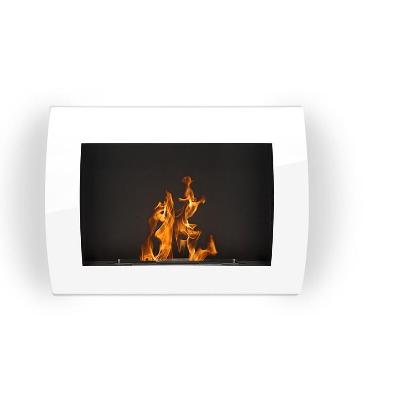 cheminee bio ethanol solo blanche noir ou grise. Black Bedroom Furniture Sets. Home Design Ideas
