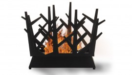cheminée éthanol style scandinave