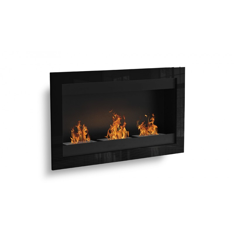 cheminee ethanol murale 3 bruleurs sevenfire. Black Bedroom Furniture Sets. Home Design Ideas